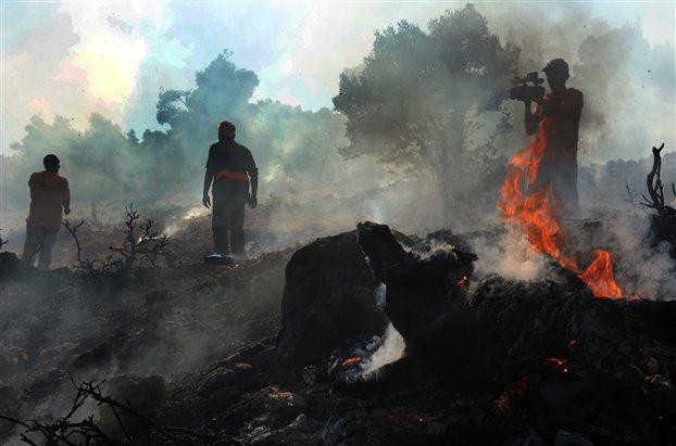 Έβρος: Συνεχίζεται η πύρινη λαίλαπα
