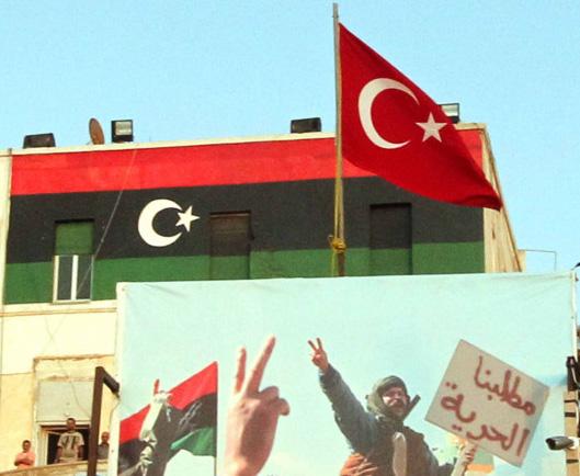Η Τουρκία διεισδύει στη Λιβύη