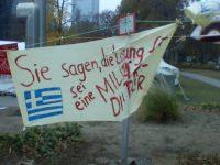 Οι Γερμανοί αγανακτισμένοι στο πλευρό του ελληνικού λαού
