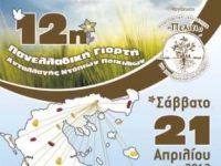 12η πανελλαδική γιορτή ανταλλαγής ντόπιων ποικιλιών