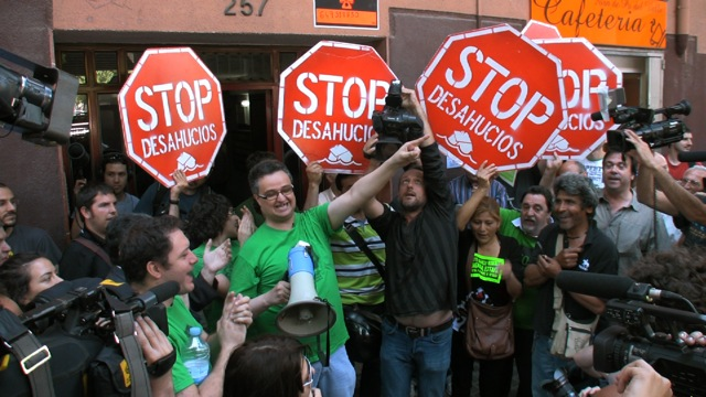 Ισπανία: Κίνημα ενάντια στις εξώσεις