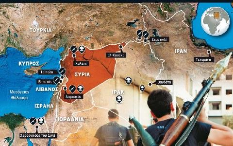 Το γεωπολιτικό παιχνίδι στη Συρία: συνέντευξη του Βαγγέλη Πισσία
