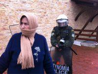 Για τα σημερινά κατασταλτικά αίσχη της κυβέρνησης στην Ιερισσό