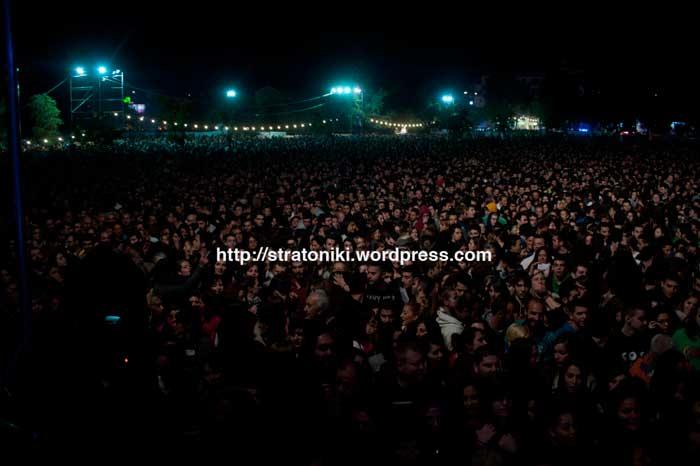 Συναυλία ενάντια στην λεηλασία της Βορειοανατολικής Χαλκιδικής: «Η πλατεία ήταν γεμάτη!»