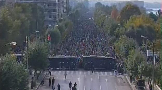 Ανακοίνωση του «Μένουμε Θεσσαλονίκη» για την δίκη της «παρέλασης του λαού»