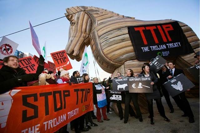 """Εκδήλωση: «Ο Δούρειος Ίππος της TTIP"""" (βίντεο)"""