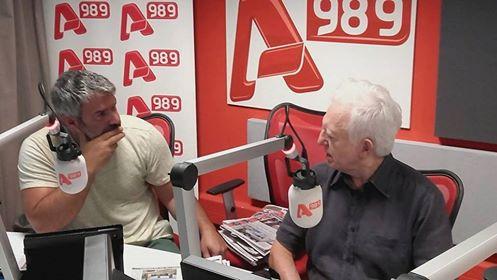 Ο Γ. Καραμπελιάς τον Αύγουστο στην Γιάφκα