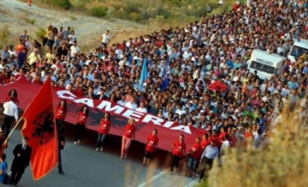 Αποτέλεσμα εικόνας για τσαμηδες ελλαδα αλβανια