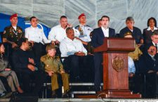 Raul Castro, Cuba's current leader, members of the Cuban Government, many head-of-states and officials from all around the world, and hundreds of thousands Cubans, pay tribute to Fidel Castro, the former Prime Minister and President of Cuba, who die on the late night of November 25, 2016, at age of 90. On Tuesday, 29 November 2016, in the Revolution Square, Havana, Cuba. (Photo by Artur Widak/NurPhoto via Getty Images)