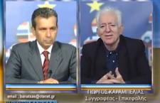 Ο Γ. Καραμπελιάς στην εκπομπή Ηλεκτρική Καρέκλα  (βίντεο)