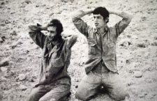 In this image released by the Cyprus Press and Information Office on Monday, Aug. 10, 2009, show two of five Greek Cypriot soldiers are pictured surrendering to advancing Turkish troops near Kiados or (Tziaos) village during the second phase of Turkey's invasion of the island that started on August 14, 1974. The remains of the five soldiers were recently identified after being unearthed from an abandoned well along with those of 14 other individuals in the breakaway Turkish Cypriot north of the island. Cyprus' government spokesman Stefanos Stefanou urged Turkey to account for some 1,500 Greek Cypriots who vanished during the invasion. Around 500 Turkish Cypriots also dissapeared mainly during inter-ethnic clashes in the early 1960s. Cyprus was ethnically split in 1974 when Turkey invaded in response to a coup by supporters of union with Greece. (AP Photo/Cyprus Press and Information Office, HO)