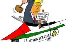 Η Ιερουσαλήμ, ο Τραμπ, ο Μοχάμεντ Μπιν Σαλμάν και στο βάθος το Ιράν