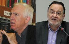 Γιώργος Καραμπελιάς και Παναγιώτης Λαφαζάνης σχολιάζουν το Σκοπιανό, την Αριστερά κ.ά. στην εκπομπή Εξαρχείων (ηχητικό)