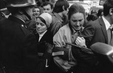 Mouvements et manifestations survenus en France durant les évènements de Mai 68 à Paris, France, en mai 1968 . (Photo by REPORTERS ASSOCIES/Gamma-Rapho via Getty Images)