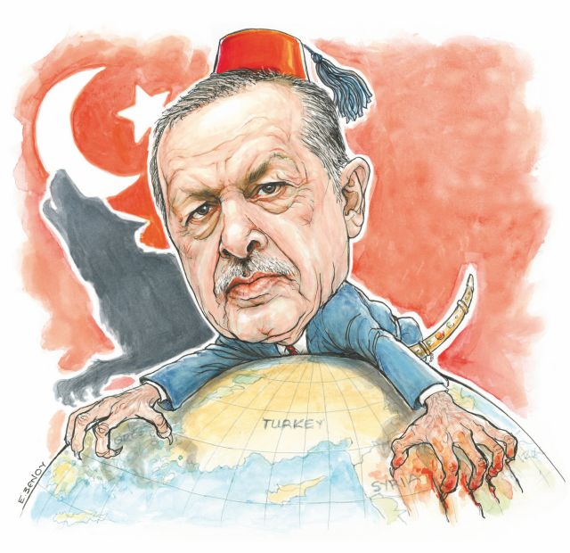 Αποτέλεσμα εικόνας για ερντογαν συρια σκιτσο
